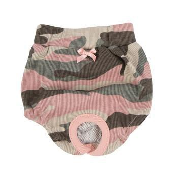 Brigadier Dog Sanitary Panty by Puppia - Pink Camo-Puppia-High Society Canine