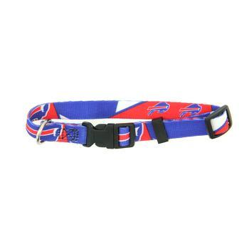 Buffalo Bills Dog Collar - Bright Blue-NFL Dogs-High Society Canine