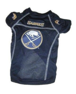 Buffalo Sabres Dog Jersey-NHL Dogs-High Society Canine