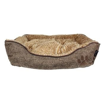 Cabana Lounger Dog Bed - Brown-Parisian Pet-High Society Canine