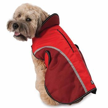 Calgary Dog Coat - Red-PetRageous-High Society Canine