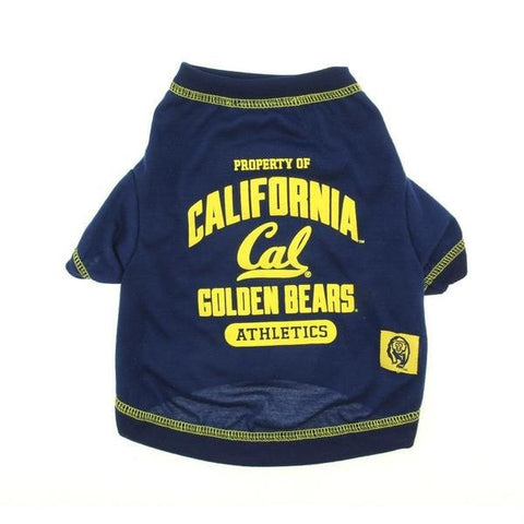 California Golden Bears Athletics T-Shirt-NCAA Dogs,Pets First-High Society Canine