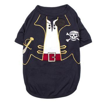 Captain Sparrow Dog Costume Shirt-Parisian Pet-High Society Canine