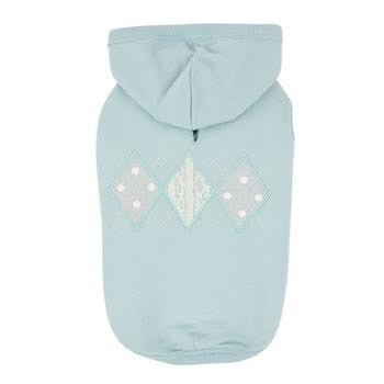 Carys Hooded Dog Shirt by Pinkaholic - Mint-Pinkaholic-High Society Canine