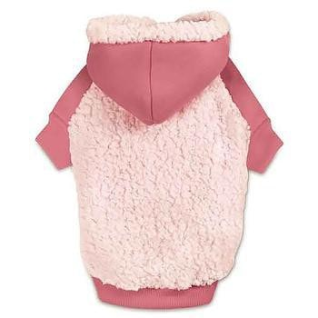 Casual Canine Cozy Fleece Dog Hoodie - Pink-Casual Canine-High Society Canine