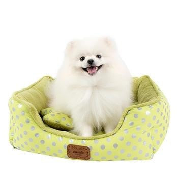 Chic Dog Bed by Pinkaholic - Lime