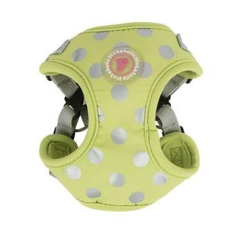 Chic Step-In Adjustable Dog Harness by Pinkaholic - Lime-Pinkaholic-High Society Canine
