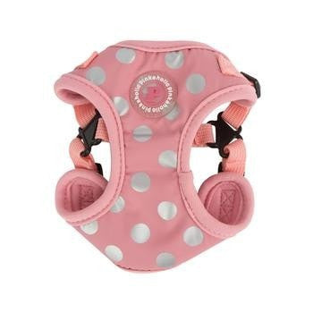 Chic Step-In Adjustable Dog Harness by Pinkaholic - Pink