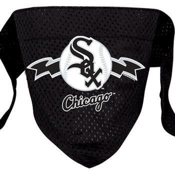 Chicago White Sox Mesh Dog Bandana-MLB Dogs-High Society Canine