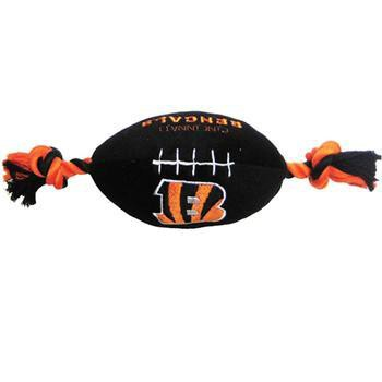 Cincinnati Bengals Plush Football Dog Toy-NFL Dogs-High Society Canine