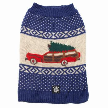 Clarks Wagon & Tree Sweater - Blue Multi