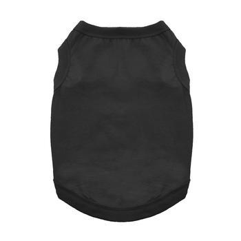 Cotton Dog Tank by Doggie Design - Jet Black-Doggie Design-High Society Canine