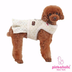 Cubby Flirt Dog Harness by Pinkaholic - Ivory - Harness - Pinkaholic - High Society Canine LLC - 2