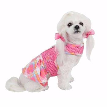 Clearance - Dainty Flirt Dog Harness Dress by Pinkaholic - Pink-High Society Canine-High Society Canine