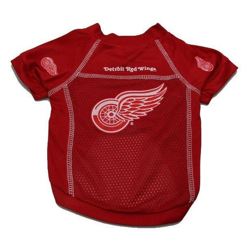 Detroit Red Wings Mesh Dog Jersey-All Star Dogs,NHL Dogs-High Society Canine