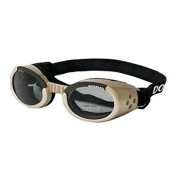 Doggles - ILS2 Chrome Frame with Smoke Lens-Doggles-High Society Canine