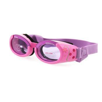 Doggles - ILS2 Pink Frame with Flowers Lilac Lens-Doggles-High Society Canine