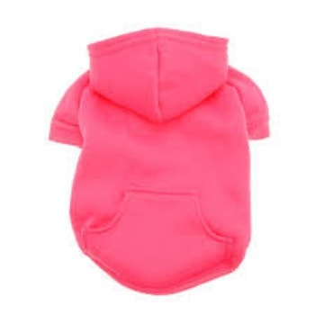Barking Basics Dog Hoodie - Dark Pink-Barking Basics-High Society Canine