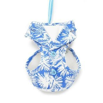 EasyGo Hawaii Dog Harness by Dogo - Blue-DOGO-High Society Canine