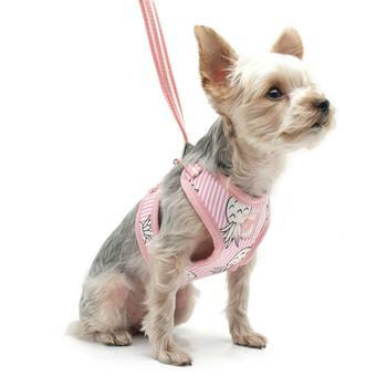 EasyGO Pineapple Dog Harness by Dogo - Pink-DOGO-High Society Canine