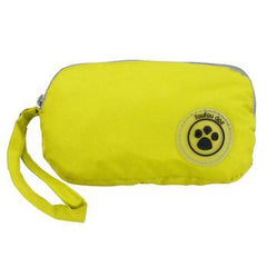 FouFouDog Rainy Day Dog Poncho with Built-in Travel Pouch - Yellow - Coat - FouFou Dog - High Society Canine LLC - 3