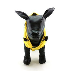 FouFouDog Rainy Day Dog Poncho with Built-in Travel Pouch - Yellow - Coat - FouFou Dog - High Society Canine LLC - 4