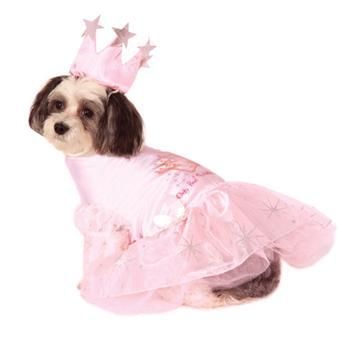 Glinda the Good Witch Dog Costume-Rubies Costumes-High Society Canine