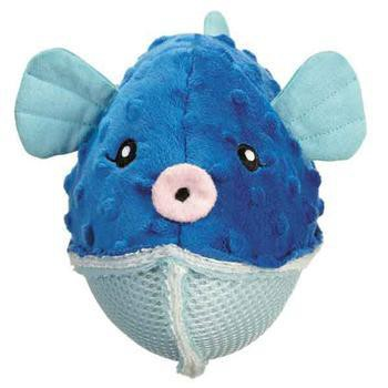 Grriggles Aquadudes Dog Toy - Puffer Fish-Grriggles Dog Toys-High Society Canine