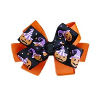 Halloween Pumpkin Dog Collar Attachment