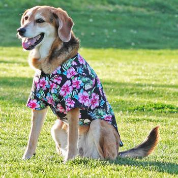 Hawaiian Camp Shirt by Doggie Design - Paradise Nights-Doggie Design-High Society Canine
