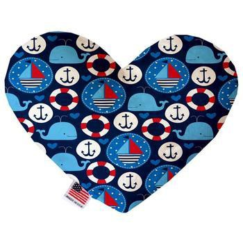Heart Dog Toy - Anchors Away-Mirage-High Society Canine