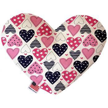 Heart Dog Toy - Mixed Hearts-Mirage-High Society Canine