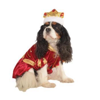 Kanine King Halloween Dog Costume-Rubies Costumes-High Society Canine