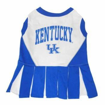 Kentucky Cheerleader Dog Dress-NCAA Dogs,Pets First-High Society Canine