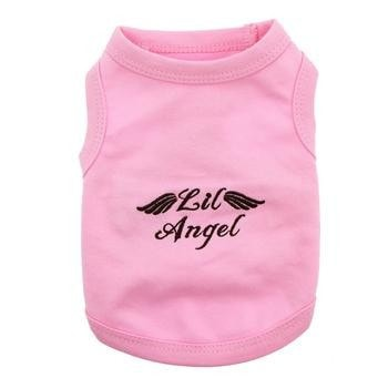 Lil Angel Dog Tank by Parisian Pet - Pink-Parisian Pet-High Society Canine