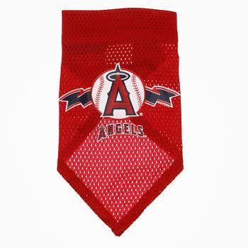 Los Angeles Angels Mesh Dog Bandana-MLB Dogs-High Society Canine