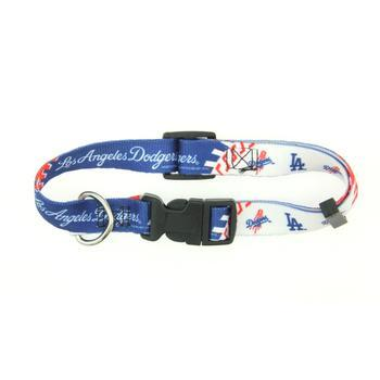 Los Angeles Dodgers MLB Dog Collar-MLB Dogs-High Society Canine
