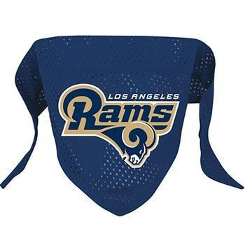 Los Angeles Rams Mesh Dog Bandana-Hunter Manufacturing,NFL Dogs-High Society Canine