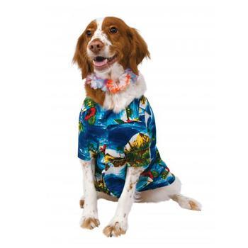 Luau Dog Costume-Rubies Costumes-High Society Canine
