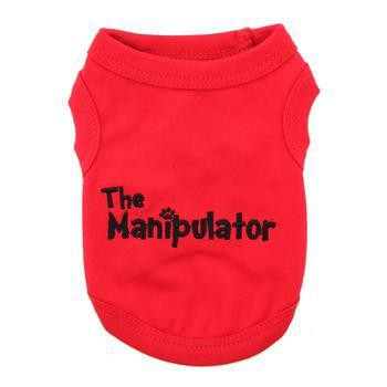 The Manipulator Dog Tank by Parisian Pet-Parisian Pet-High Society Canine