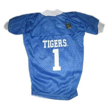 Memphis Tigers Dog Jersey - Blue-NCAA Dogs-High Society Canine