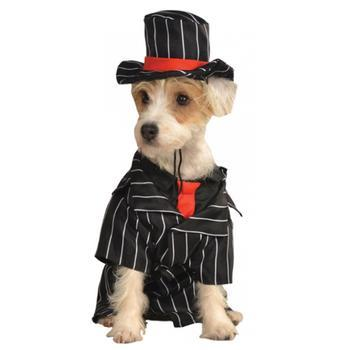 Mob Dog Costume-Rubies Costumes-High Society Canine