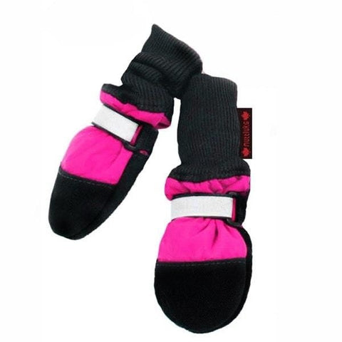 Muttluks Fleece Lined Boots - Pink-Muttluks-High Society Canine