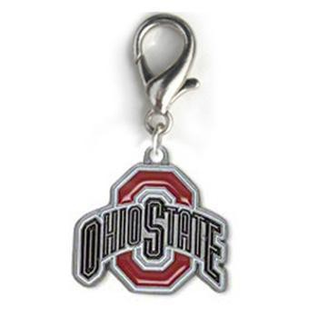 Ohio State Dog Collar Charm-NCAA Dogs-High Society Canine