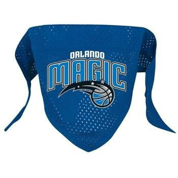 Orlando Magic Mesh Dog Bandana-Hunter Manufacturing,NBA Dogs-High Society Canine
