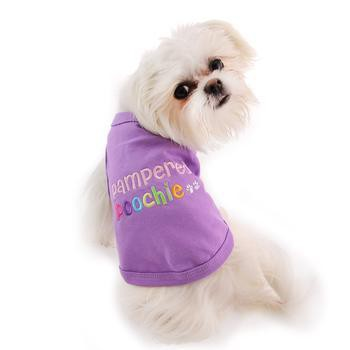 Pampered Poochie Dog Tank by Parisian Pet - Purple-Parisian Pet-High Society Canine