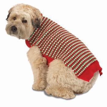 Poppers Dog Sweater - Holiday Red