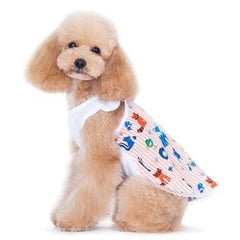 PuppyPAWer Animal Fun Dog Dress by Dogo - Pink
