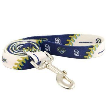 San Diego Padres Baseball Printed Dog Leash-MLB Dogs-High Society Canine