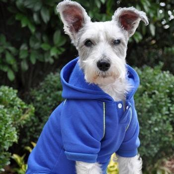 Sport Dog Hoodie by Doggie Design - Nautical Blue-Doggie Design-High Society Canine